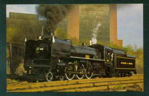 Delaware Hudson D&H Railway Sesquicentennial No 653 Steam Railroad Postcard