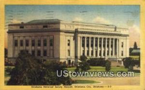 Historical Society & Museum Oklahoma City OK 1950