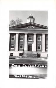 Trenton North Carolina~Jones Conrty Court House~Real Photo Postcard c1950