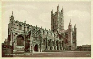 Gloucester Cathedral from South West Postcard