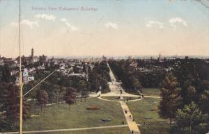 View from Parliament Bldgs , TORONTO , Ontario , Canada , PU-1910