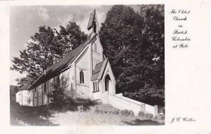 RP: Church , YALE ,  B.C. , Canada, 30-40s