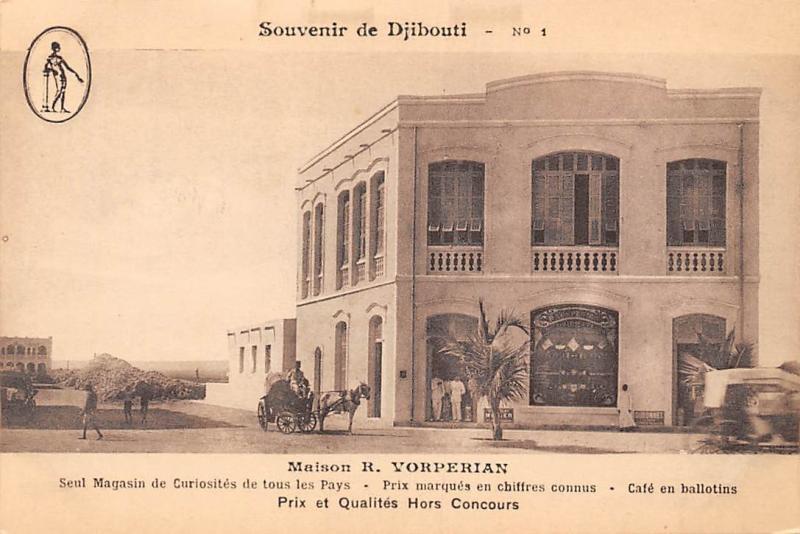 Djibouti Maison R. Vorperian, Prix marques en chiffres connus cafe carriage car