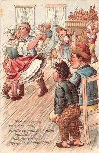 Nad posviceni ve svete neni... Village Dance 1906