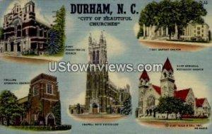 City of Beautiful Churches in Durham, North Carolina