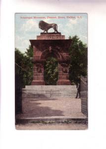 Lion, Sebastopol Monument, Pleasant St Halifax, Nova Scotia, Valentine and Sons