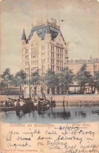 Netherlands Groeten uit Rotterdam, Witte Huis, White House Greetings! 1902