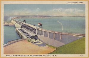 Lake of the Ozarks, Jefferson City, MO., Bagnell Dam - 1935