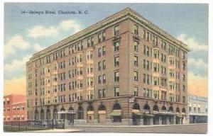 Selwyn Hotel, Charlotte, North Carolina, 30-40s