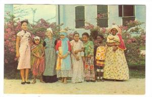 SURINAME , 40-60s ; Various Ethnic types