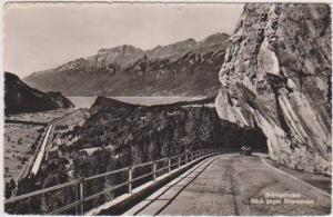 RP: Brunigstrasse, Blick Gegen Brienzersee, Bern, Switzerland 1951