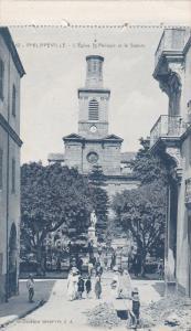 PHILIPPEVILLE [Now Skikda] , Algeria , 00-10s : L'Eglise St Philippe et le Sq...