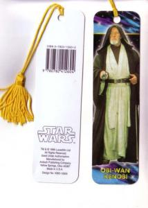 Star Wars, Obi-Wan Kenobi Tasseled Bookmark, 1996