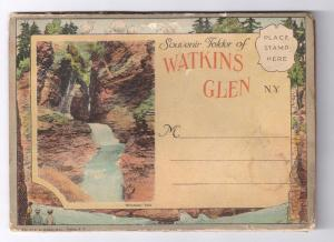 Watkins Glen NY Souvenir Folder 18 Views