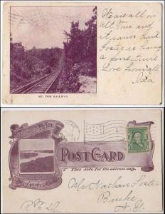 MA - Berkshires. Mt Tom Railway