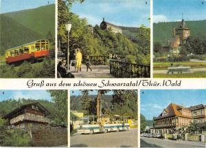 GG13833 Das schoene Schwarzatal Oberweissbacher Bergbahn Schloss Sitzendorf