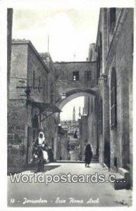 Ecce Homo Arch JerUSA lem, Israel Unused