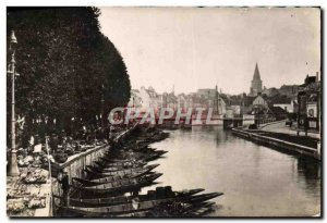 Old Postcard Amiens Walk On & # 39Eau