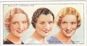 Wills Cigarette Card Radio Personalities 2nd Series No 50 Carlyle Cousins