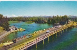 Fishing Bridge Yellowstone Lake Yellowstone National Park
