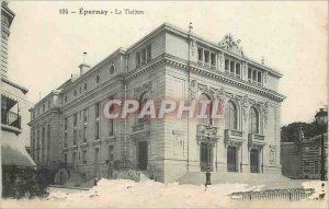 Old Postcard Epernay Theater