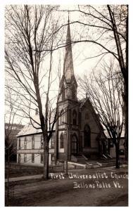 Vermont  Bellows Falls ,  First Universalist Church , RPC
