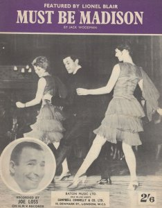 Lionel Blair Must Be Madison Sheet Music