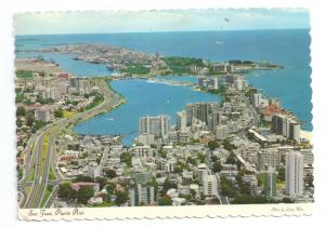 Puerto Rica San Juan Birds Eye View 1969 4X6