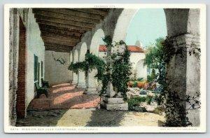 San Juan Capistrano California~Mission San Juan Capistrano~Garden @ Arch~c1910