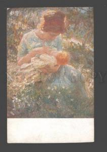 093488 Illuminated Mother & Baby by CHIESA Vintage PC