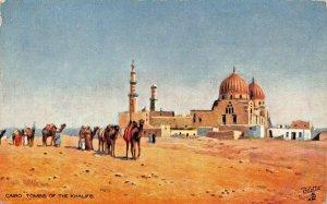 CAIRO EGYPT~TOMBS OF THE KHALIFS~TUCK PICTURESQUE EGYPT POSTCARD