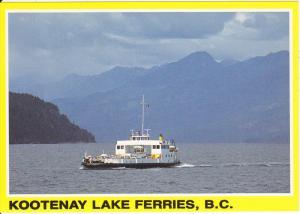 M.V. Balfour, Kootenay Bay, Kootenay Lake Ferries, NELSON, British Columbia, ...