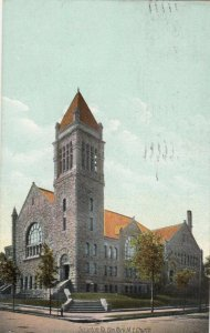 SCRANTON, Pennsylvania, 1908; Elm Park M.E. Church