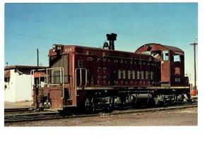 Rock Island Railroad, Railway Train, Amarillo Texas 1971