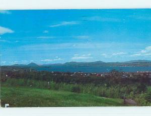 Pre-1980 TOWN VIEW SCENE Quebec City QC p9428