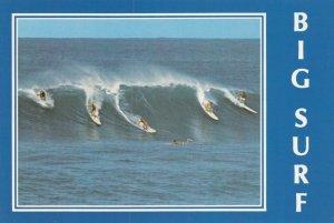 HAWAII , 1970-80s; Big Surf, Surfing in Hawaii