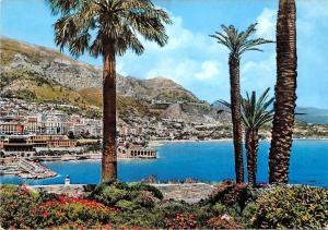 Monaco  Monte Carlo Vue d'ensemble General view Harbour Boats