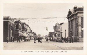 RP: FORT FRANCES , Ontario , 30-40s ; Scott Street