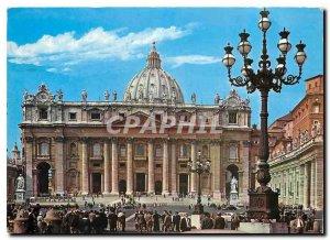 Postcard Modern Citta del Vaticano Basilica of St. Peter