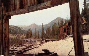 OLD VIENNA MINE Sawtooth National Forest Idaho Mining Postcard ca 1960s