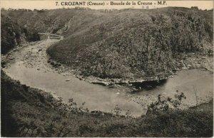 CPA CROZANT Boucle de la Creuse (1143758)