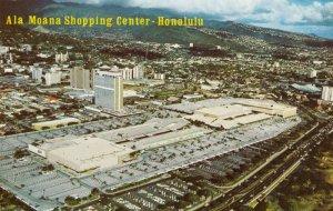 HONOLULU , Hawaii, 1960s ; Ala Moana Shopping Center