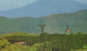 Mount Fuji Ropeway Cable Car Japanese Postcard