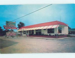 Unused Pre-1980 LOBSTER HOUSE RESTAURANT Allendale South Carolina SC hs4401
