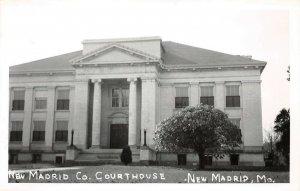 LPSS06 New Madrid Missouri New Madrid County Court House Postcard RPPC