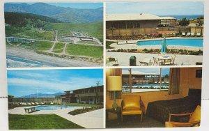 San Simeon Lodge California Vintage Postcard