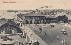 COLOMBO , Ceylon , 00-10s ; Harbour