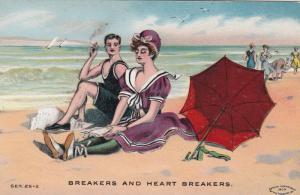 Couple at Beach , Breakers & HEART Breakers , 00-10s