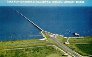 LA - New Orleans. Lake Pontchartrain Causeway