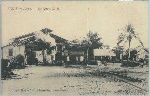 80156 -  MADAGASCAR -  Vintage Postcard -  TAMATAVE  Train Station
